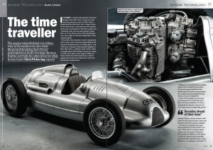 Auto Union engine feature, Historic Racing Technology