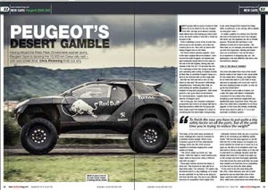 Peugeot 300 DKR, Race Tech by chris Pickering