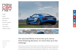 Audi R8 review by Chris Pickering