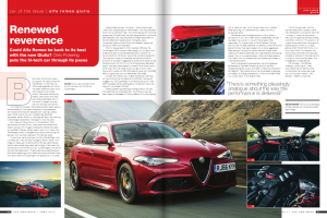 Alfa Romeo Giulia review by Chris Pickering